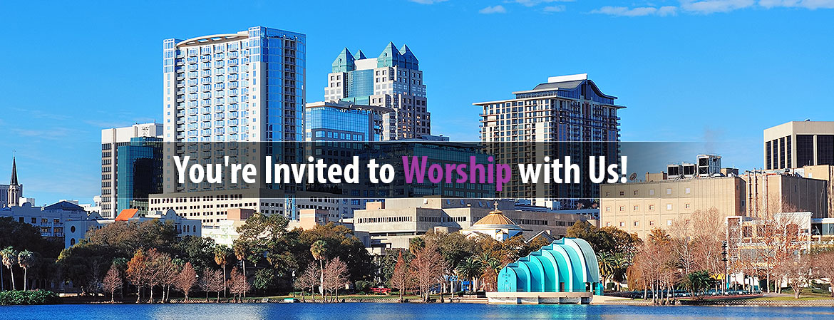You're invited to Worship With Us!